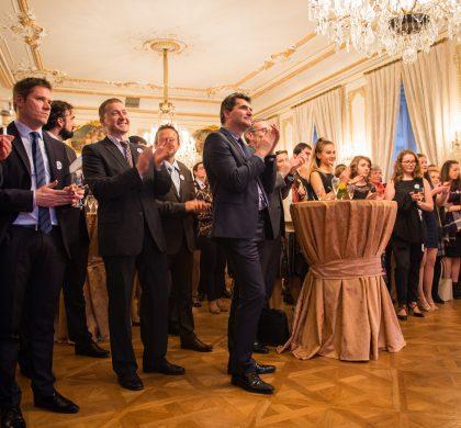 Setkání absolventů na Francouzském velvyslanectví v Praze