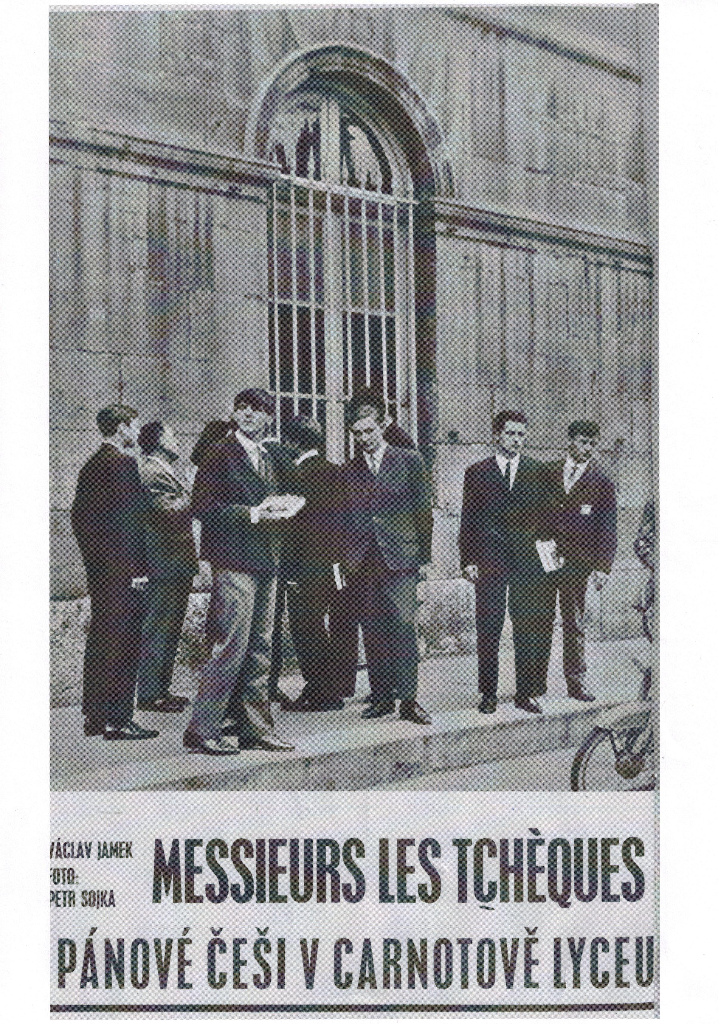 Pánové Češi v Carnotově lyceu – článek z roku 1967!