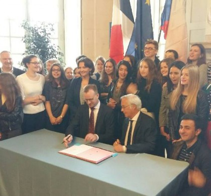 Dvě nová partnerství mezi Prahou 6 a Dijonem