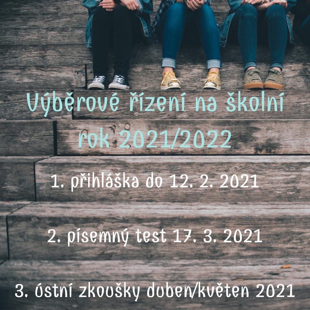 Výběrové řízení | nástup do sekce září 2021